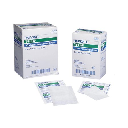 Telfa™ Non-Sterile Ouchless Non-Adherent Dressings