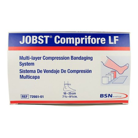 Jobst® Comprifore® LF Nonsterile 4 Layer Compression Bandage System, 7 - 10 Inch