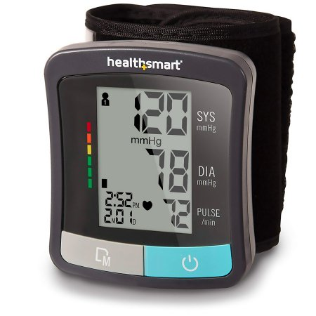 Digital Blood Pressure Wrist Unit Mabis® 1-Tube Automatic Talking Model Adult One Size Fits Most Product Image