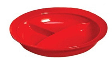 Partitioned Plate-Polycarbonate 8-1/4
