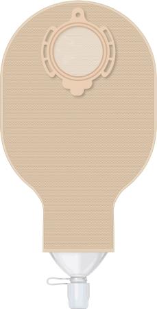 B.BRAUN 933080NA Ostomy Pouch Flexima® 3S High Flow Two-Piece System 12 Inch Len