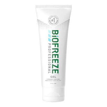 Topical Pain Relief Biofreeze® Professional 5% Strength Menthol Topical Gel 4 oz. Product Image