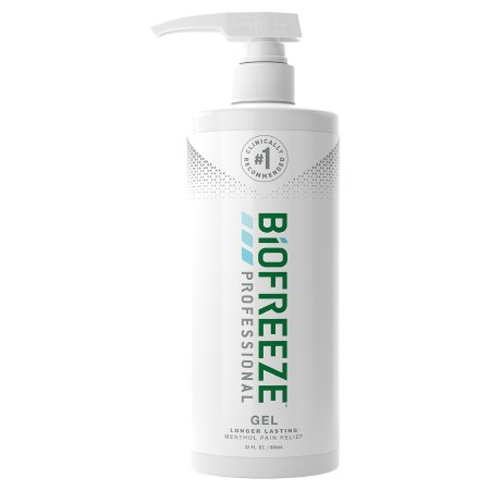 Topical Pain Relief Biofreeze® Professional 5% Strength Menthol Topical Gel 32 oz. Product Image