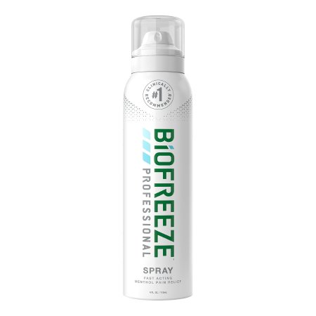 Topical Pain Relief Biofreeze® Professional 360° 10.5% Strength Menthol Spray 4 oz. Product Image