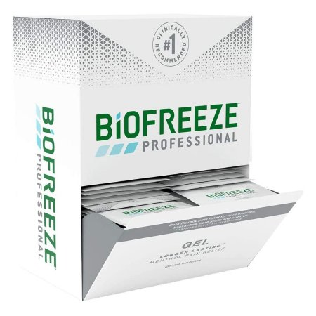 Topical Pain Relief Biofreeze® 3.5% Strength Menthol Topical Gel 100 per Box Product Image