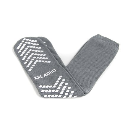 Slipper Socks McKesson 2X-Large Gray Above the Ankle Product Image