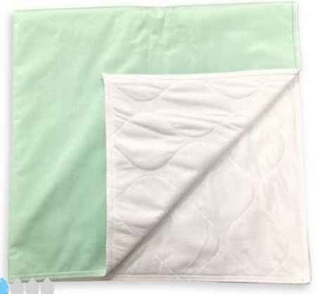 UNDERPAD 34 X 36 INCH REUSABLE POLYESTER / RAYON LIGHT ABSORBENCY (12/PK)