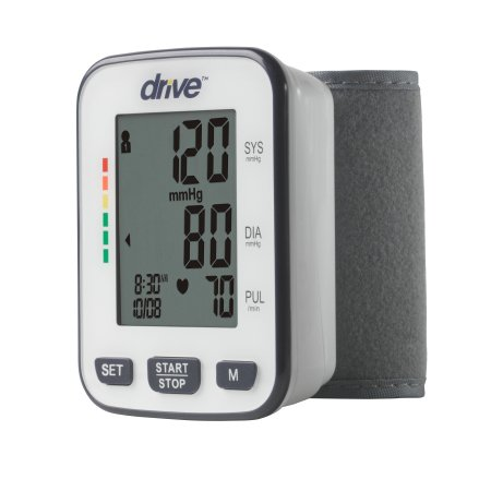 Digital Blood Pressure Monitoring Unit drive™ 1-Tube Automatic Inflation Adult Medium Wrist Cuff Product Image