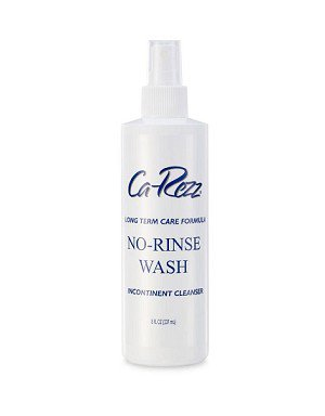 Rinse-Free Perineal Wash Ca-Rezz® Liquid 8 oz. Pump Bottle Floral Scent Product Image