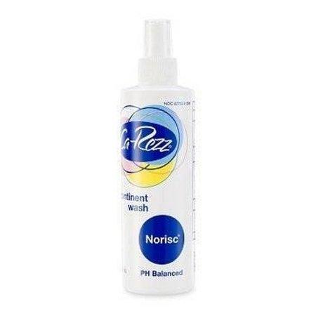Rinse-Free Perineal Wash Ca-Rezz NoRisc® Liquid 8 oz. Pump Bottle Floral Scent Product Image