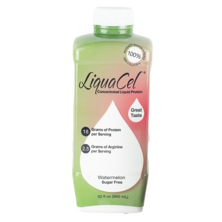 Oral Supplement LiquaCel™ Watermelon Flavor Ready to Use 32 oz. Bottle Product Image