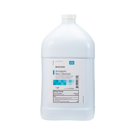 Antiseptic Skin Cleanser McKesson 1 gal. Jug 4% Strength CHG (Chlorhexidine Gluconate) / Isopropyl Alcohol Product Image