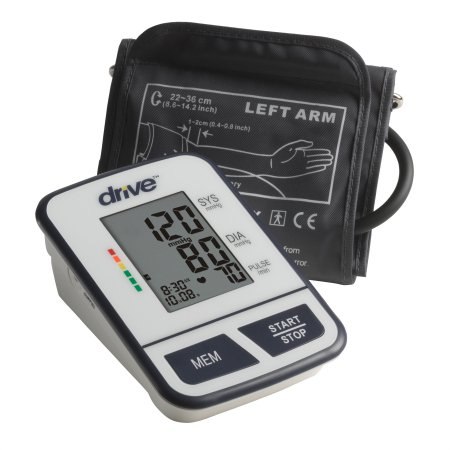 Digital Blood Pressure Monitoring Unit drive™ 1-Tube Automatic Inflation Adult Large Cuff Product Image