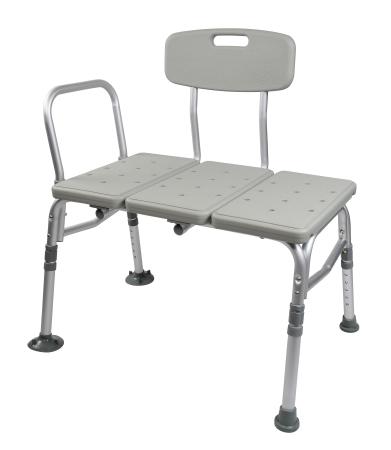 Capacity Bath Bench 400 lb Adjustable Height Shower Bench Aluminum Frame
