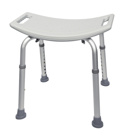 Bath Bench McKesson 400 lbs. Fixed Handle Qnty: One Each by McKesson Brand Mfr#