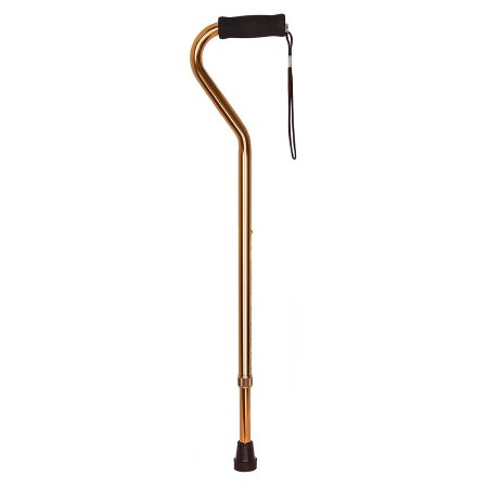 Offset Cane McKesson Aluminum 30 to 39 Inch Height Bronze Product Image