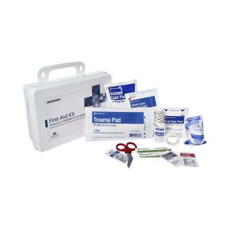 First Aid Kit McKesson 25 Person Plastic Case Product Image