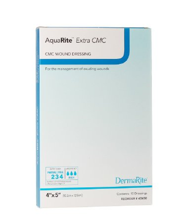 Wound Dressing AquaRite Extra CMC 2x2 (10/box)