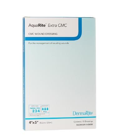Wound Dressing AquaRite Extra CMC 4x5 (10/box)