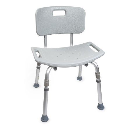 Bath Bench Mckesson 15.5 To 19.5 h 400 Lbs. Fixed Handle Qnty: One Case Of 4