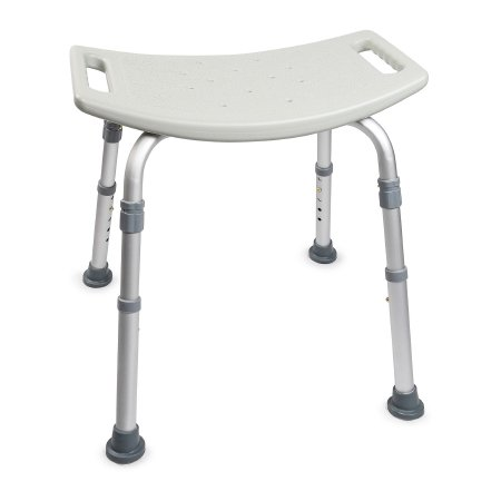 Bath Bench McKesson 400 lbs. Fixed Handle Qnty: One Case of 4 by McKesson Brand