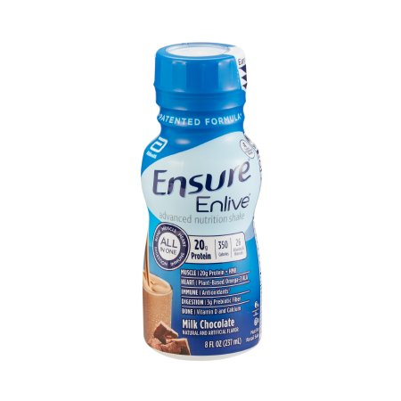 Oral Supplement Ensure Enlive Chocolate Flavor Ready to use 8oz Bottle (24/case)