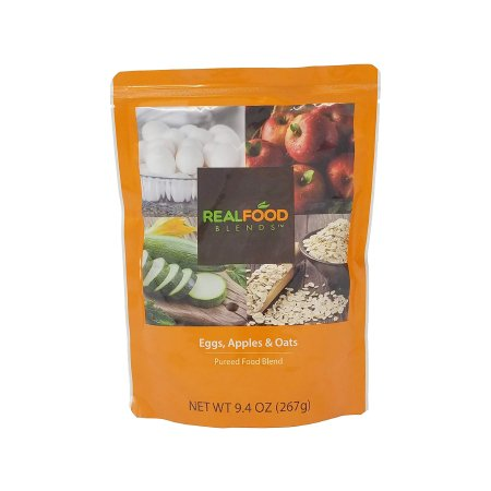 Tube Feeding Formula Real Food Blends™ 9.4 oz. Pouch Ready to Use Eggs / Apples / Oats Adult / Child Product Image