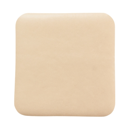 Thin Silicone Foam Dressing McKesson Lite 3 X 3 Inch Square Silicone Gel Adhesive without Border Sterile Product Image