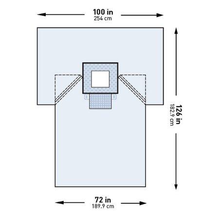 McKesson Brand 183-I80-05122G-S