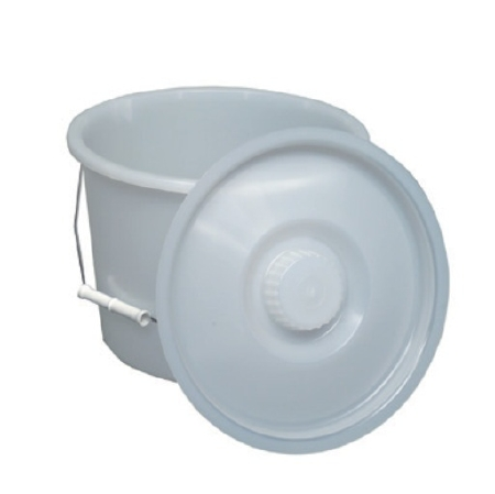 Mabis Healthcare Commode Pail with Lid