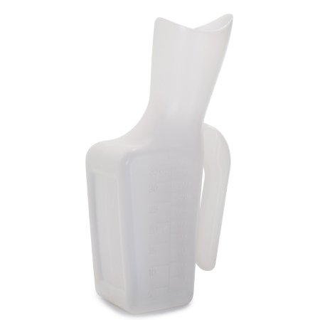 Female Urinal McKesson 32 oz. / 946 mL Without Closure Single Patient Use Product Image