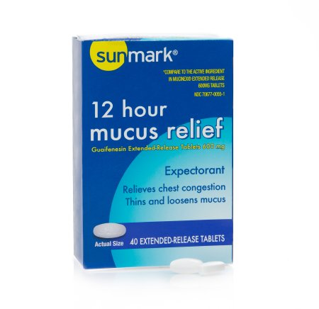 Cold and Cough Relief, Mucus E.R. 600mg (40/box)