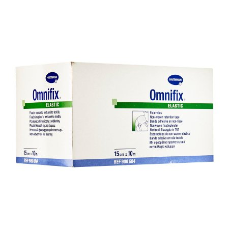 Dressing Retention Tape Omnifix® Skin Friendly Nonwoven 6 Inch X 10 Yard White NonSterile Product Image