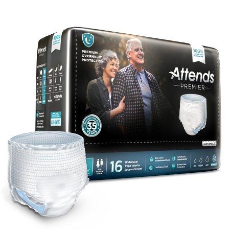 Attends® Premier Underwear, Large