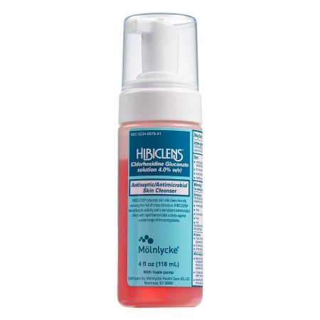 Surgical Scrub Hibiclens® 4 oz. Pump Bottle 4% Strength CHG (Chlorhexidine Gluconate) Product Image