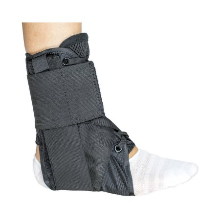Ankle Brace McKesson Medium Lace-Up / Figure-8 Strap / Hook and Loop Closure Left or Right Foot Product Image