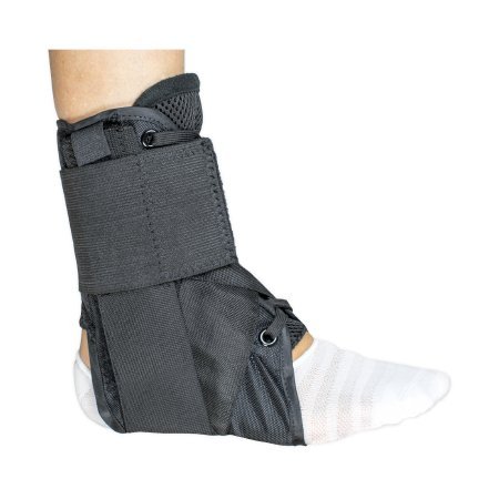 Ankle Brace McKesson Large Lace-Up / Figure-8 Strap / Hook and Loop Closure Left or Right Foot Product Image