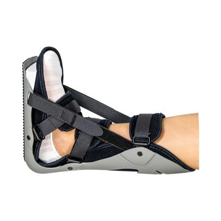 Plantar Fasciitis Night Splint McKesson Medium Hook and Loop Closure Male 6-1/2 to 8-1/2 / Female 7-1/2 to 9-1/2 Left or Right Foot Product Image