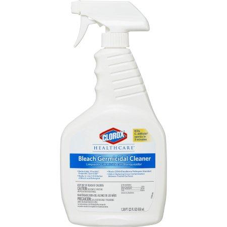 Clorox Healthcare® Bleach Germicidal Surface Disinfectant Cleaner Germicidal Liquid 22 oz. Bottle Floral Scent NonSterile Product Image