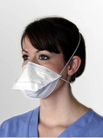 N95 Particulate Respirator Flat Fold Size Small (50/box)