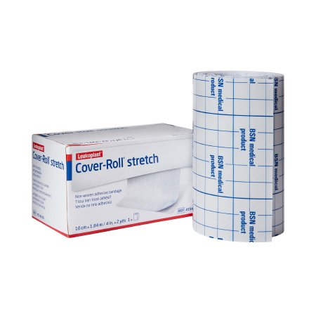 Dressing Retention Tape Cover-Roll® Stretch Radio-transparent Nonwoven Polyester 4 Inch X 2 Yard White NonSterile Product Image