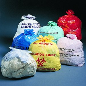 Biohazard Laundry Bag 30-33 Gallon Yellow (250/case)
