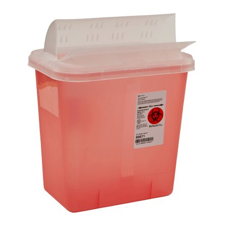 Multi-purpose Sharps Container SharpSafety™ 1-Piece 10Hu2026  sc 1 st  McKesson Medical-Surgical & Covidien 89671 - McKesson Medical-Surgical