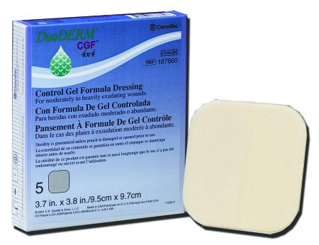 ConvaTec DuoDERM® CGF® Sterile Hydrocolloid Dressing, 4 x 4 Inch