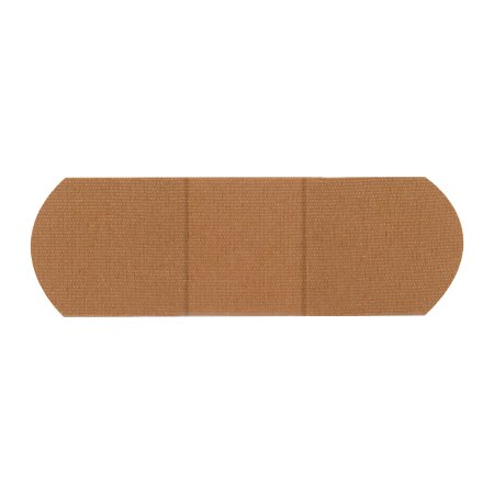 Adhesive Strip American® White Cross 1 X 3 Inch Fabric Rectangle Tan Sterile Product Image