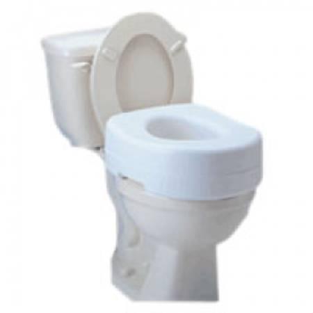 Carex® Economy Raised Toilet Seat