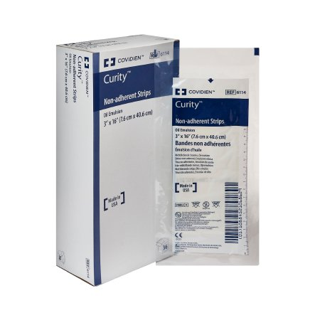 Oil Emulsion Impregnated Dressing Curity 3x16