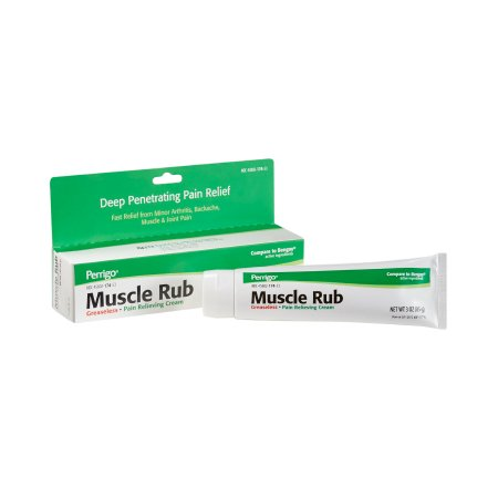 Muscle Rub Menthol / Methyl Salicylate Topical Pain Relief, 3 oz.