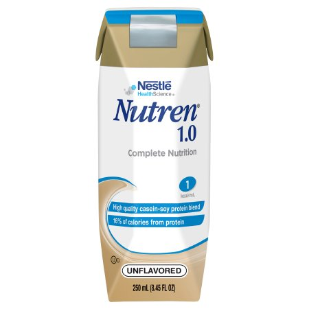 Tube Feeding Formula Nutren® 1.0 8.45 oz. Carton Ready to Use Unflavored Adult Product Image