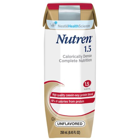 Tube Feeding Formula Nutren® 1.5 8.45 oz. Carton Ready to Use Unflavored Adult Product Image